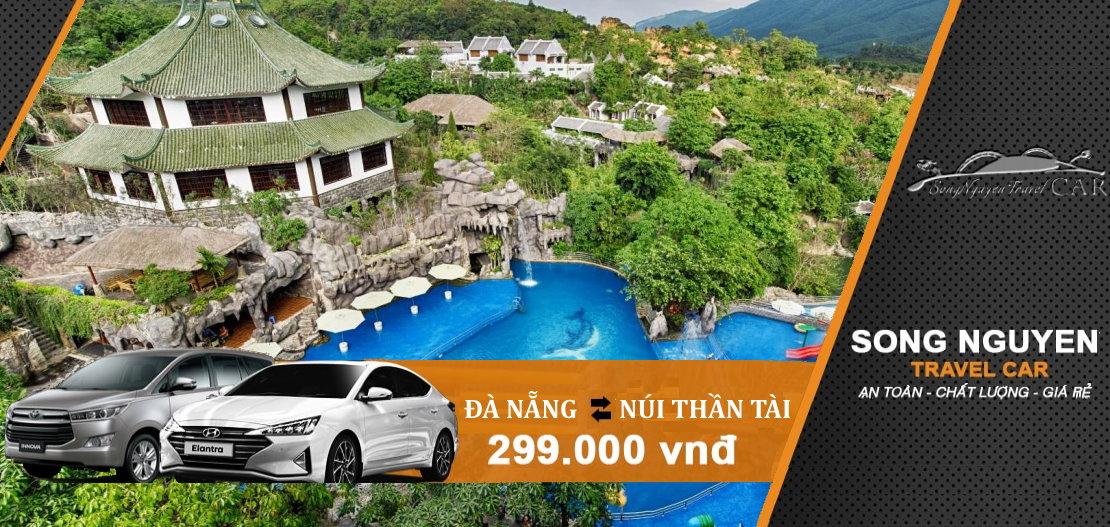 Thuê xe đưa đón Đà Nẵng đi Núi Thần Tài giá rẻ từ 299k