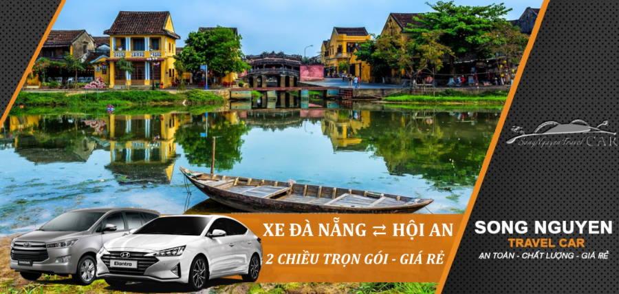 Thuê xe Đà Nẵng đi Hội An 2 chiều trọn gói giá rẻ từ 399K