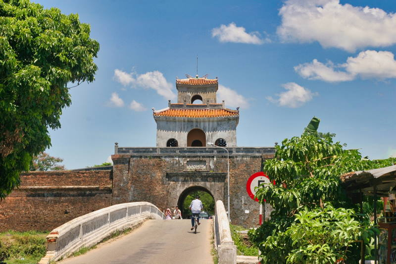 Cửa An Hòa - Tây Bắc Hoàng Thành Huế